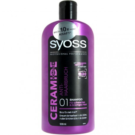 Syoss - Shampooing Ceramide Complex Anti-Casse - 500ml