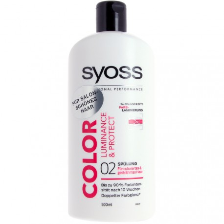 Syoss - Après-Shampooing Color Luminance & Protect - 500ml