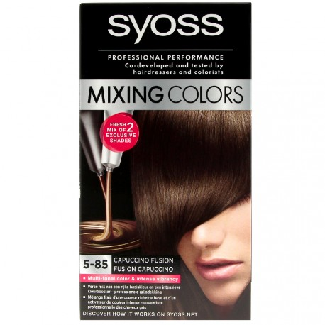 Syoss - Coloration mixing colors 5-85 capuccino fusion