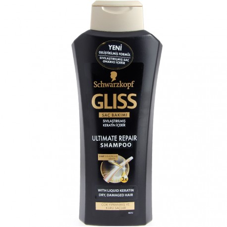 Schwarzkopf Gliss Kur - Shampooing ultimate repair - 250ml