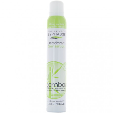 Byphasse - Déodorant spray sensation extrait de bambou - 250ml