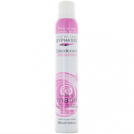 Byphasse - Déodorant spray sensation rosée du matin - 250ml