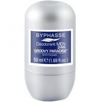 Byphasse - Déodorant men 24h groovy paradise roll-on - 50ml