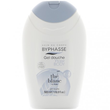 Byphasse - Caresse Gel de Douche au Thé blanc d'Asie - 500ml