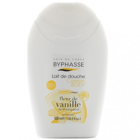 Byphasse - Caresse Lait de Douche Fleur de Vanille - 500ml