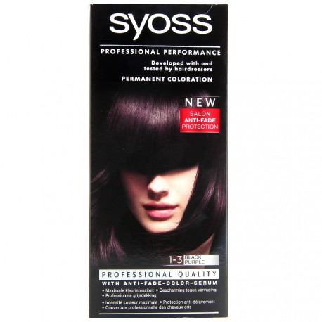Syoss - Coloration classic 1-3 Black purple