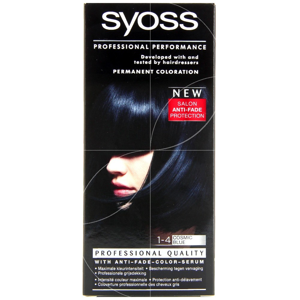 Syoss - Coloration classic 1-4 Cosmic Blue