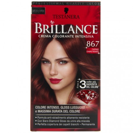 Schwarzkopf - Coloration Brillance 867 Brun Automnal