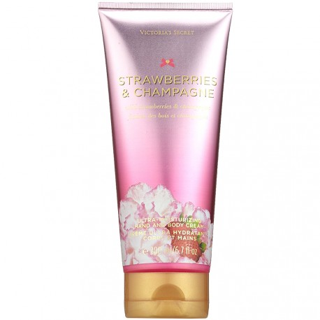 Victoria's secret - Crème ultra hydratante Strawberries & champagne - corps & mains - 200ml