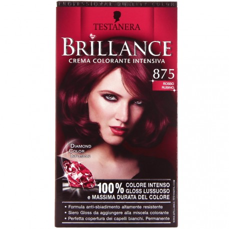 Schwarzkopf - Coloration Brillance 875 Rouge Rubis