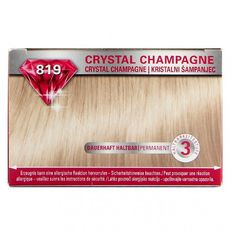 Schwarzkopf - Coloration Brillance 819 Crystal champagne