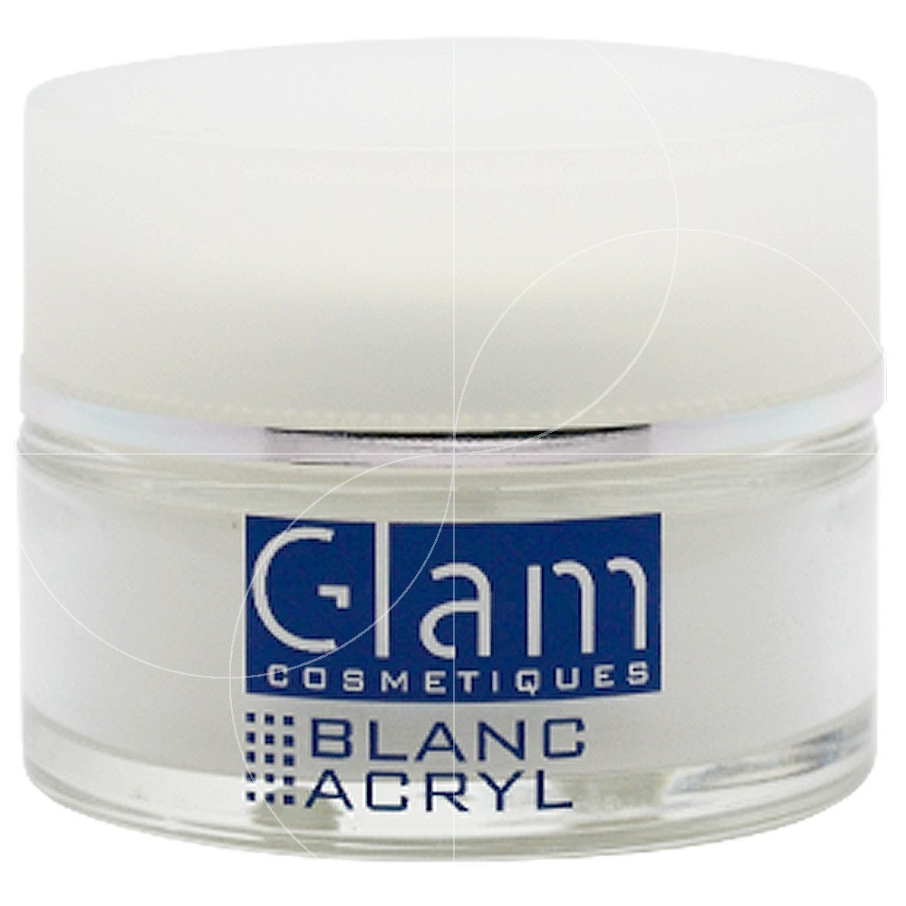 Glam Cosmetiques - Poudre Acrylique Blanche - 36g