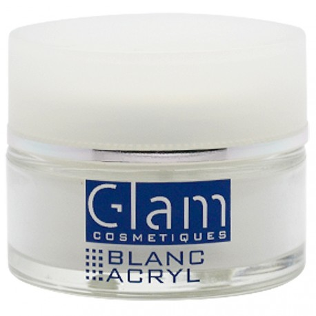 Glam Cosmetiques - Poudre Acrylique Blanche - 12g