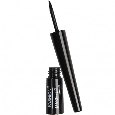 Fashion Make-Up - Eyeliner liquide N°1 noir 3ml - pointe dure