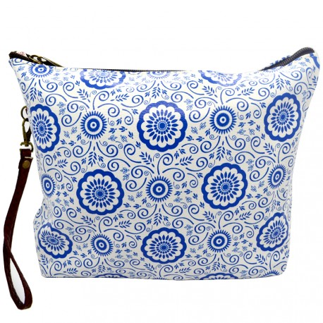 Sweet & Candy - Trousse de toilette Mosaïque Bleue - grand format