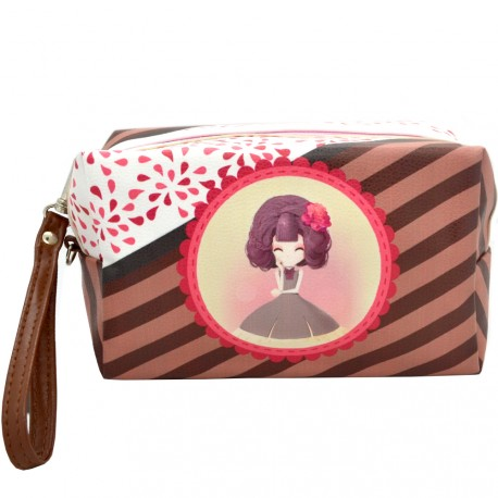 Sweet & Candy - Trousse de toilette Manga Marron
