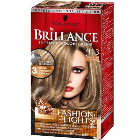 Schwarzkopf - Coloration Brillance Mèches 913 Blond Balayage