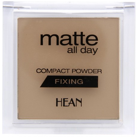Hean - Poudre Compacte Mate All Day Fixante - N°502 Ivoire - 9 g