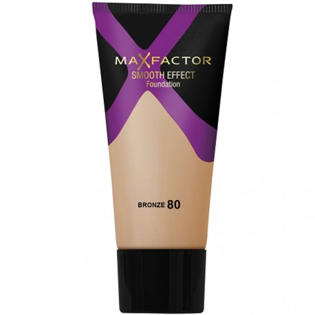 Max Factor - Fond de Teint Smooth Effect - N°80 Bronze - 30ml