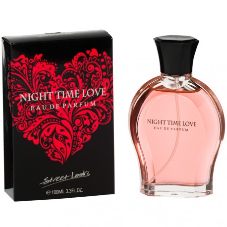 Street Looks - Night Time Love - Eau de parfum femme - 100ml