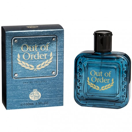 Real Time - Out of order - Eau de toilette homme - 100ml