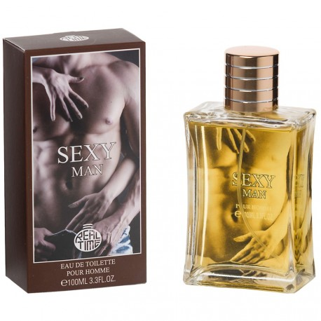 Real Time - Sexy Man - eau de toilette homme - 100ml