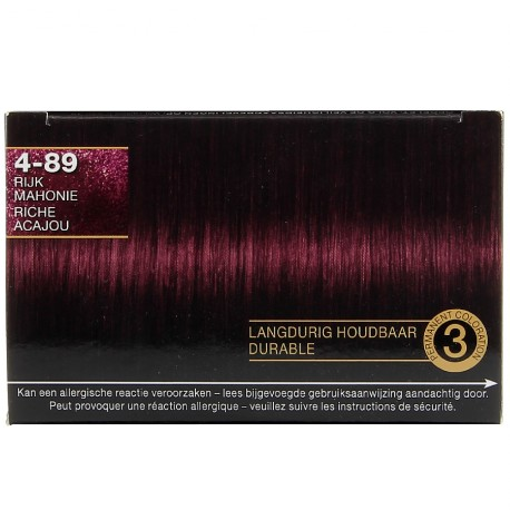 Schwarzkopf - Coloration Million Color - 4.89 riche Acajou