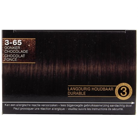 Schwarzkopf - Coloration Million Color - 3.65 Chocolat Foncé