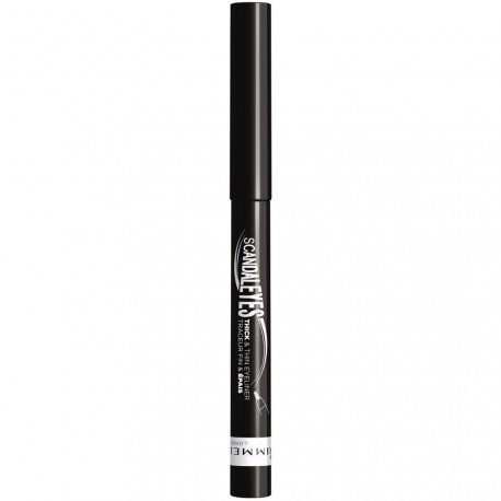 Rimmel - Scandal Eyes Liner noir waterproof Fin & Epais