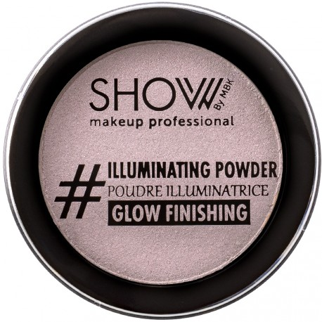 SHOW by MBK - Poudre Illuminatrice Finition Rose - 10 g