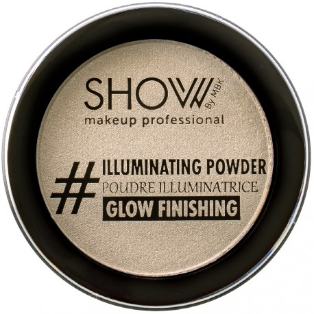 SHOW by MBK - Poudre Illuminatrice Finition Champagne - 10 g