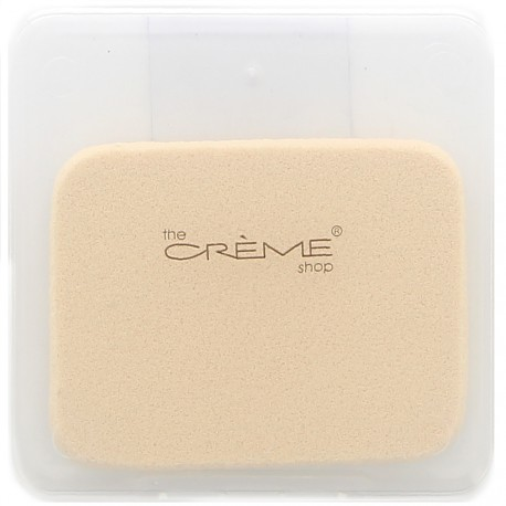 The creme shop - éponge rectangle avec etui