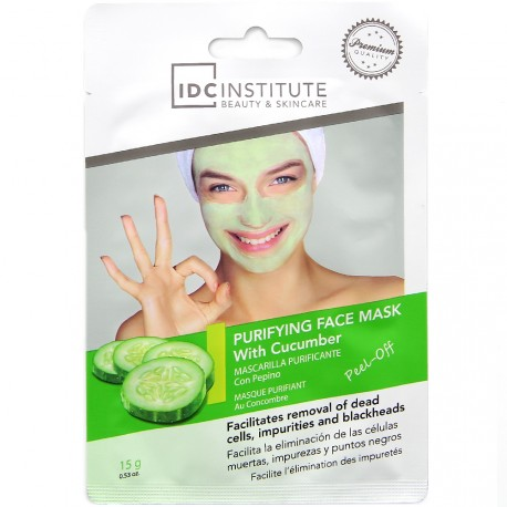 IDC institute - Masque peel-off purifiant Concombre - 15g
