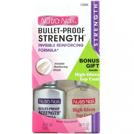 Nutra Nail - Bullet Proof Kit durcisseur - 2x15ml