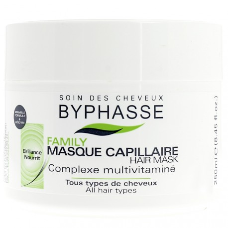 Byphasse - Family Masque Complexe Multivitaminé - Tous types de cheveux - 250ml