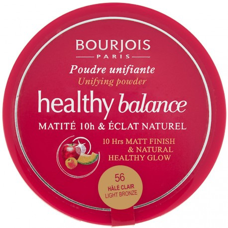 Bourjois - Healthy balance Poudre unifiante n°56 Hake clair - 9g