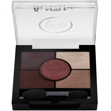 Rimmel - Glam'eyes HD Palette 5 Fards - 022 Brixton Brown