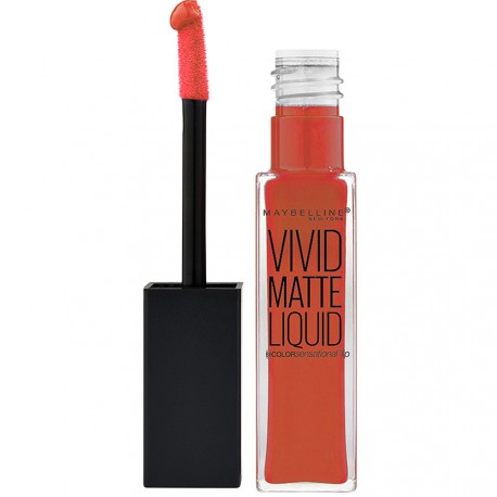 Gemey Maybelline - Color Sensational Gloss Vivid Mat 25 Orange shot - 8ml