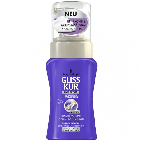 Schwarzkopf - Gliss Kur Ultimate Volume Mousse express - 125ml