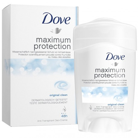 Dove - Maximum protection Deodorant stick Original 48h pour femme - 45ml