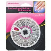 Amazing shine - Pierres décoratives Ongles Silver X600