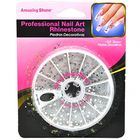 Amazing shine - Pierres décoratives Ongles Rainbow X600