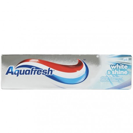 Aquafresh - Dentifrice Blancheur et Brillance - 75ml