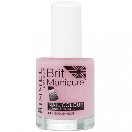 Rimmel London - Brit manicure Vernis à ongles 445 English rose - 12ml