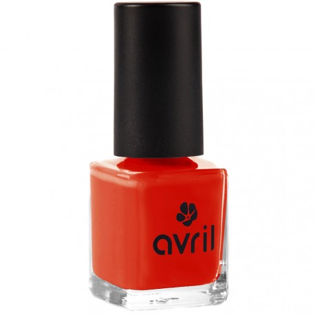 Avril - Vernis à ongles Coquelicot n°40 - 7ml
