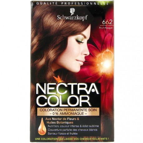 Schwarzkopf - Coloration Nectra Color - 662 Brun Nougat