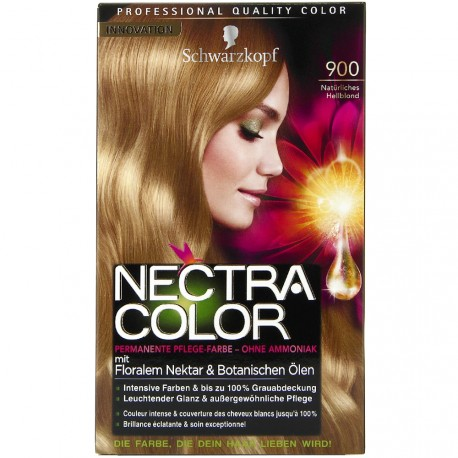 Schwarzkopf - Coloration Nectra Color - 900 Blond Clair Naturel