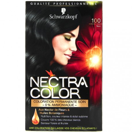 Schwarzkopf - Coloration Nectra Color - 100 Noir