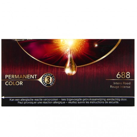 Schwarzkopf - Coloration Nectra Color - 688 Rouge Intense