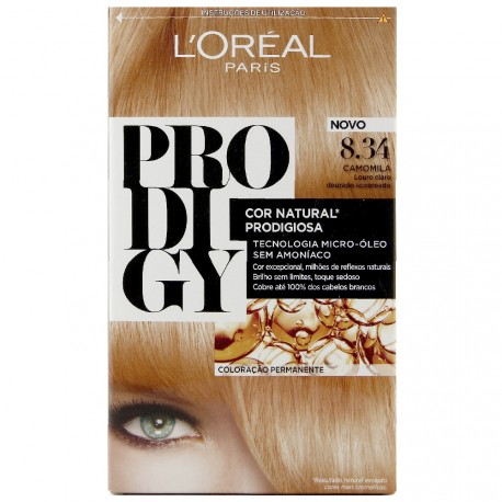 L'Oréal - Coloration Prodigy 8.34 Sunset Blond clair
